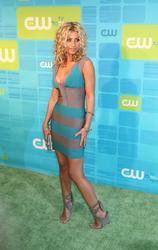 Alyson Michalka leggy and cleavagy in body hugging dress at The CW Network Upfront Presentation in New York City - Hot Celebs Home
