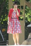 Zooey Deschanel - Shooting 'New Girl' at the Los Angeles Zoo - Oct 15, 2012 (x18)