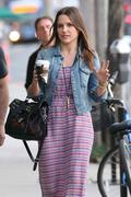 Sophia Bush - Jan 24th, Goes to Peets Coffee in Venice Beach in Los Angeles, CA X 18HQ's