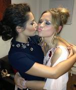 Cheryl Cole & Kimberley Walsh - Twitter Pic - 10/11/12