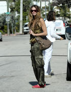 Elle MacPherson Strolling in Miami 17-12-2010 not HQ