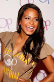Christina Milian shows legs and cleavage at Op advertising campaign party